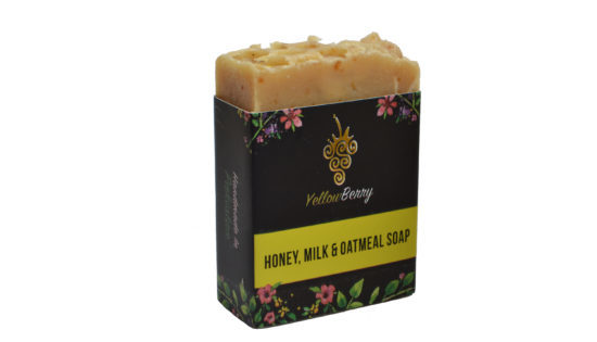 YB Honey,milk & Oatmeal Soap