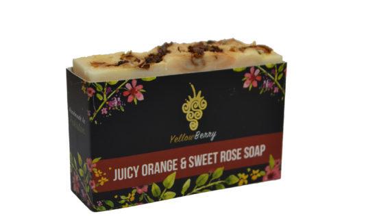 YB Juicy Orange & Sweet Rose Soap