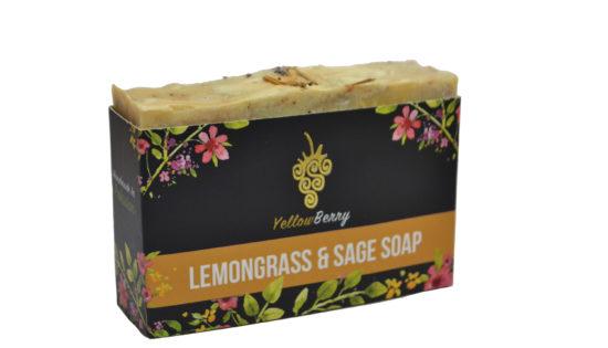 YB Lemongrass & Sage Soap