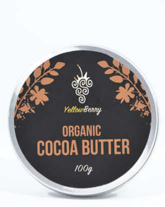 YB Organic Cacao Butter 100g