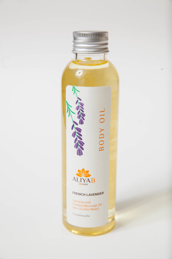 French Lavender Body oil