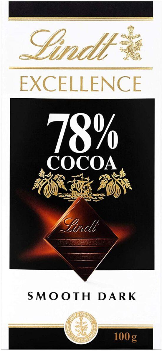 DARK CHOCOLATE 78%