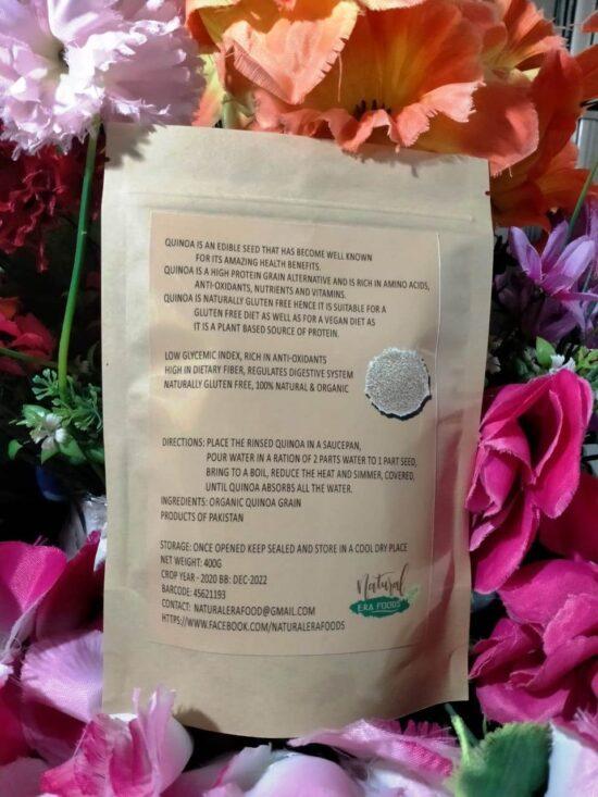 Quinoa Seed Back